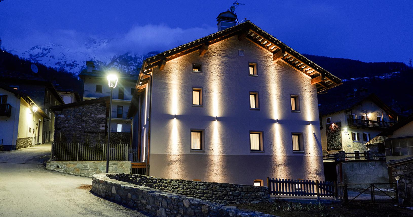 esterno struttura maison bertin