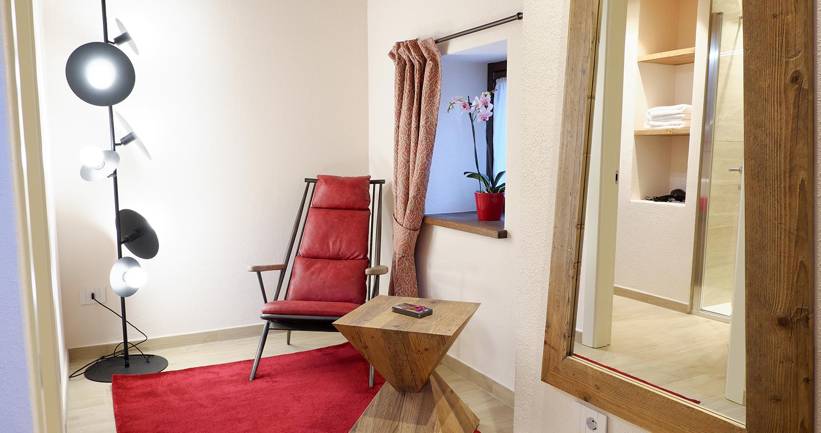 junior suite dettaglio camera